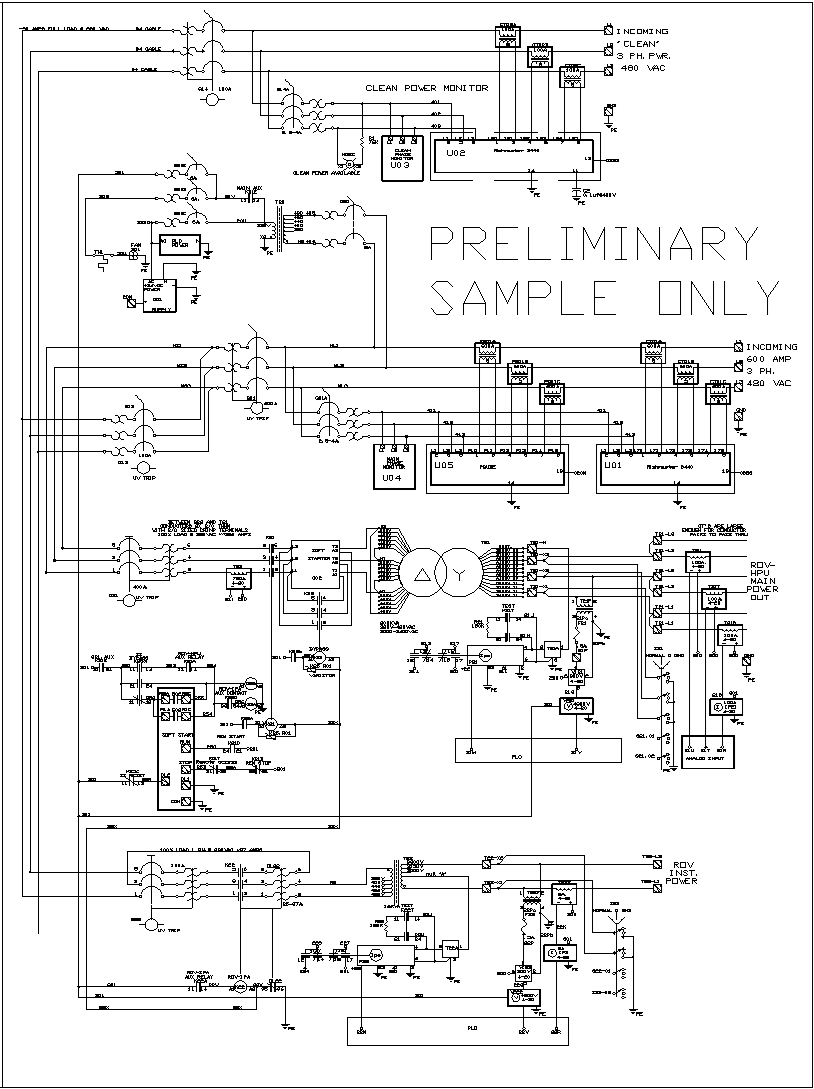 sample of new system schematics